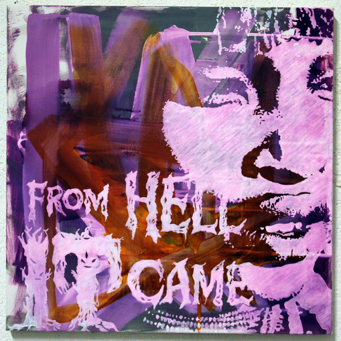 """From Hell it came"" - Painting"